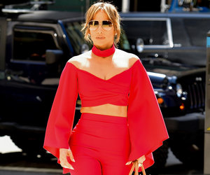 Jennifer Lopez is Radiant in Red While Out with A-Rod In Today's Hot Photos