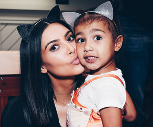 Kim Kardashian and North West are Arianators In Today's Hot Photos