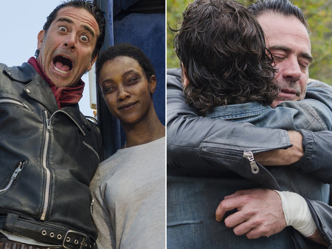 These Behind the Scenes Photos from 'Walking Dead' Finale Are Just Epic