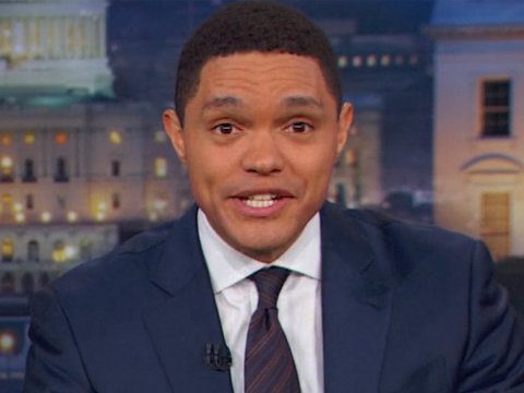 Trevor Noah Wants Trump to Call Out Bill O'Reilly for Sexual Assault Awareness