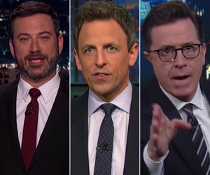 Late-Night TV Takes on White House Nepotism, Melania Trump's Portrait and…