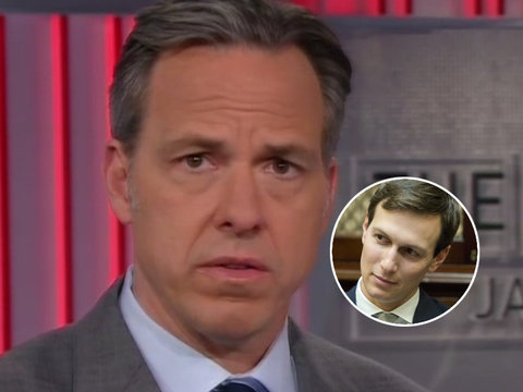 Why Jake Tapper Thinks Jared Kushner Is Actually Running the World (Video)
