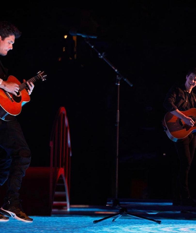 Shawn Mendes and John Mayer Perform Killer Mashup!