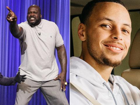 NBA Invades Late Night: Shaq Lip Sync Battle and Steph Curry Carpool Karaoke