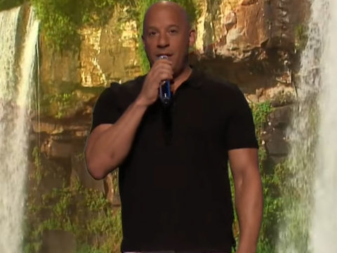 Vin Diesel Sings 'Lean on Me' Like a Chipmunk on 'Tonight Show' (Video)