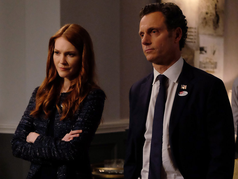'Scandal' Star Tony Goldwyn Teases What's Next for Fitz and Abby Now That She's 'Corrupt'