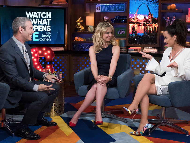Sarah Michelle Gellar Plays 'Buffy'-Themed 'Shag, Marry, Kill' on 'Watch What Happens Live' (Video)