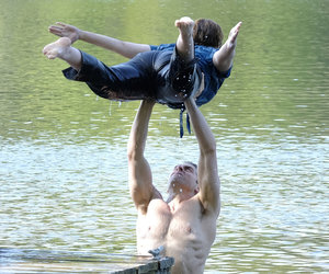 First Look at 'Dirty Dancing' Remake: Breslin Recreates 'The Lift'