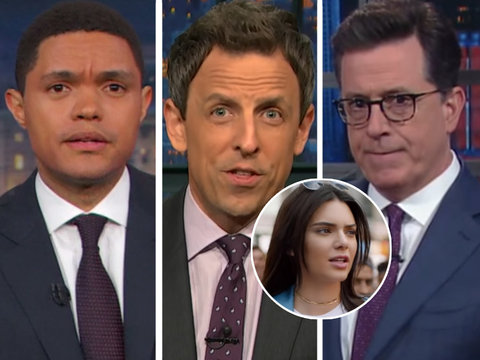 Late-Night Hosts Throw Can of Shade at Kendall Jenner Pepsi Ad
