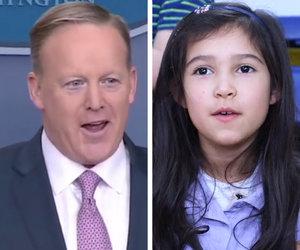 Trevor Noah and Adorable Kids Prove Sean Spicer Is an 'Overworked Kindergarten…