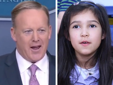 Trevor Noah and Adorable Kids Prove Sean Spicer Is an 'Overworked Kindergarten Teacher'…