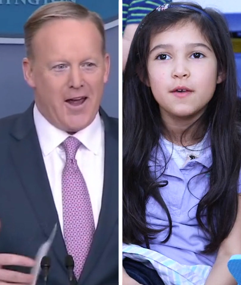 Trevor Noah and Adorable Kids Prove Sean Spicer Is an 'Overworked Kindergarten…