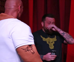 The Rock Makes a Grown Man Cry While Photobombing Unsuspecting Fans (Video)
