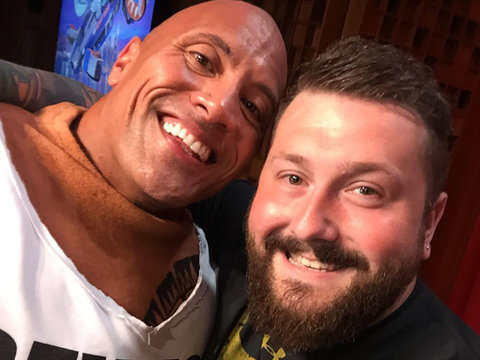 Grown Man Moved to Tears by The Rock Details Surprise Encounter With His Hero