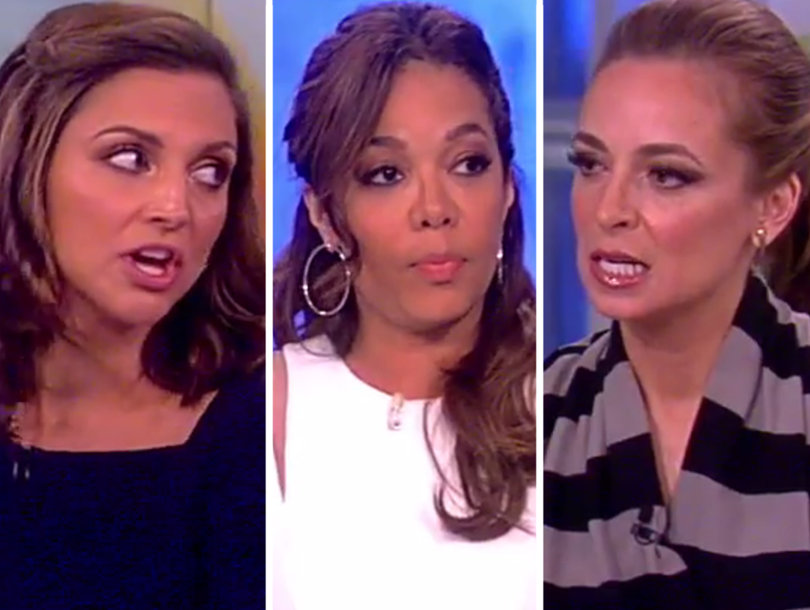 'The View' Debate Gets Heated Over Trump's Syria Strike: 'Enough of This!'…