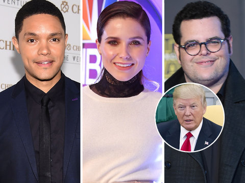 Hollywood Stars Slam Trump's 'Hypocrisy' for Bombing Syria