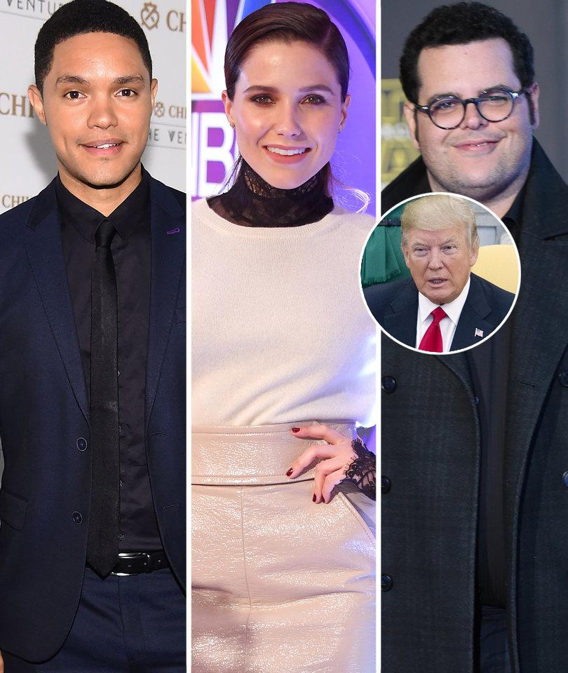 Hollywood Stars Slam Trump's 'Hypocrisy' for Bombing Syria