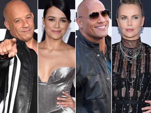 'The Fate of the Furious' Cast Hits Red Carpet for NY Premiere