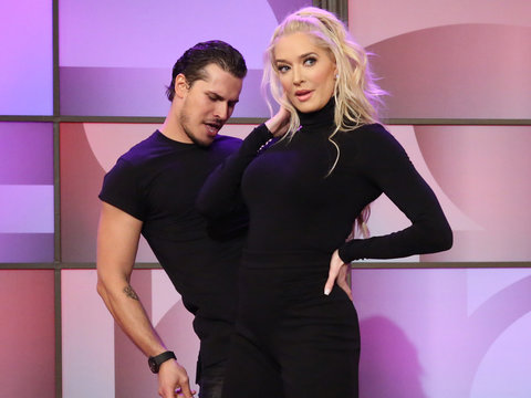 Erika Jayne Doesn't Care If She's 'Too Sexy' on 'Dancing With the Stars' (Video)