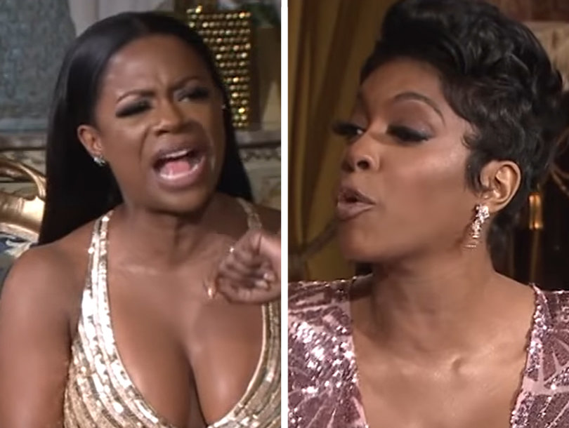 Charity, Hunny! It's Kandi vs. Porsha In 'RHOA' Reunion Sneak Peek