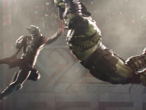 Thor vs. Hulk! Chris Hemsworth Battles Mark Ruffalo In First Teaser for 'Thor: Ragnarok'…