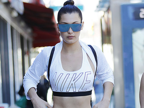 Bella Hadid Heads to the Gym to Start Her Week in Today's Hot Photos