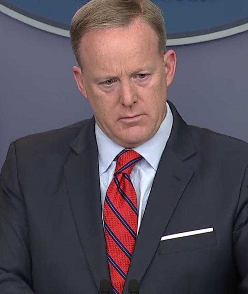 The Sean Spicer Pile-On Over Hitler Gaffe: Fire Him!