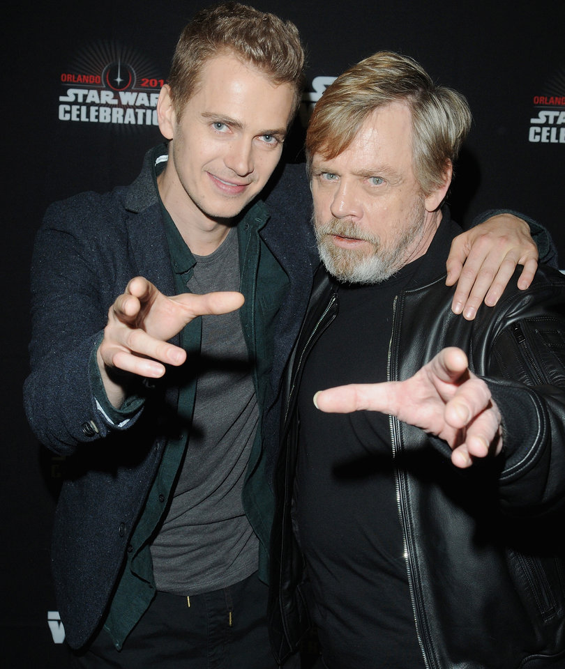 Hayden, Hamill, Harrison and More Fan Favorites Flood Star Wars Celebration