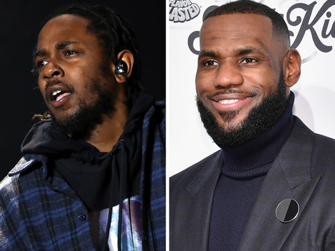 LeBron James Gives Kendrick Lamar Fans a Preview of 'Damn' (Video)