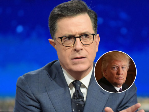 Stephen Colbert 'Would Trade Good Ratings for a Better President'