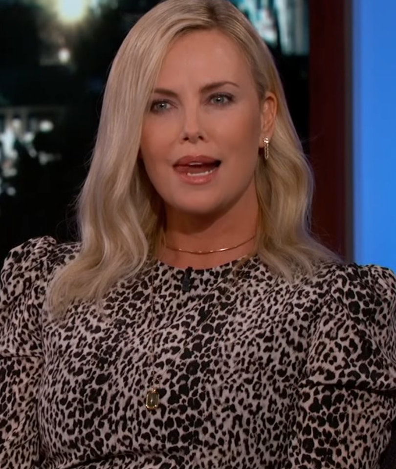 That Time Charlize Theron Hired a 'Dirty' Easter Bunny for Her Kids (Video)