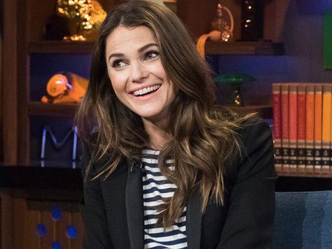 Keri Russell Squirms Playing 'Mickey Mouse Club' Edition of Shag, Marry, Kill
