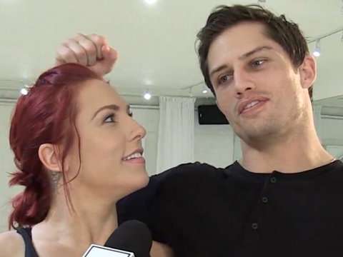 Inside 'DWTS' Bonner Bolton and Sharna Burgess' Rehearsal
