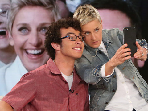 This Is the Deal Ellen Just Offered Chicken Nugget Kid Carter Wilkerson (Video)