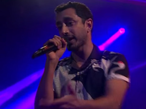 Riz Ahmed Demolishes James Corden in 'Drop the Mic' Rap Battle