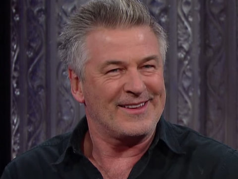 Alec Baldwin Tells Colbert Secrets to Trump Face: Look Like You're Sucking Chrome Off…