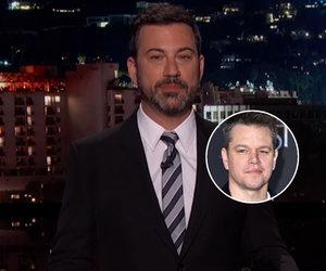 Jimmy Kimmel and Matt Damon's Feud Flies the Unfriendly Skies in United…
