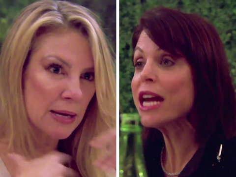 'Feud: Bethenny and Ramona' Debuts on 'RHONY' With A 'Soft Porn' Sneak Attack (Video)