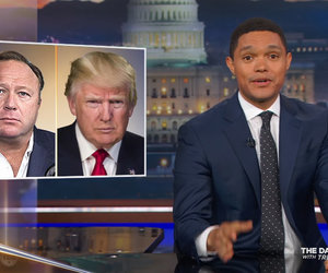 Trevor Noah Thinks InfoWars' Alex Jones and Donald Trump Are 'Basically Doing…