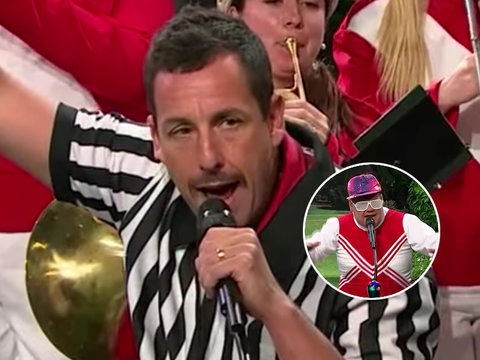Watch James Corden and Kevin James Get a Little Help From Adam Sandler in 'Angry Soccer…