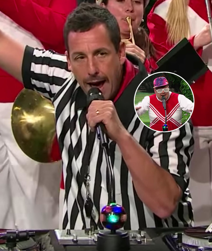 Watch James Corden and Kevin James Get a Little Help From Adam Sandler in…