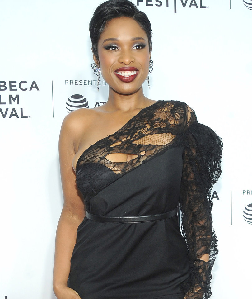 Jennifer Hudson Stuns in LBD at 'Clive Davis' Premiere in Today's Hot Photos