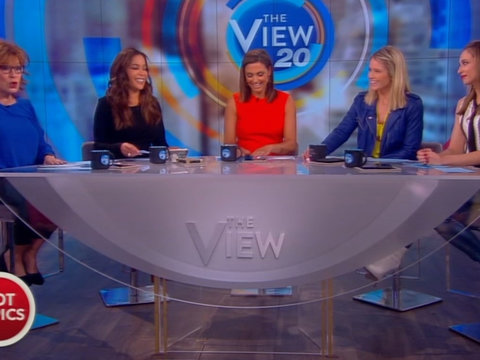 'The View' Tackles Kid Rock, Palin, Nugent White House Visit
