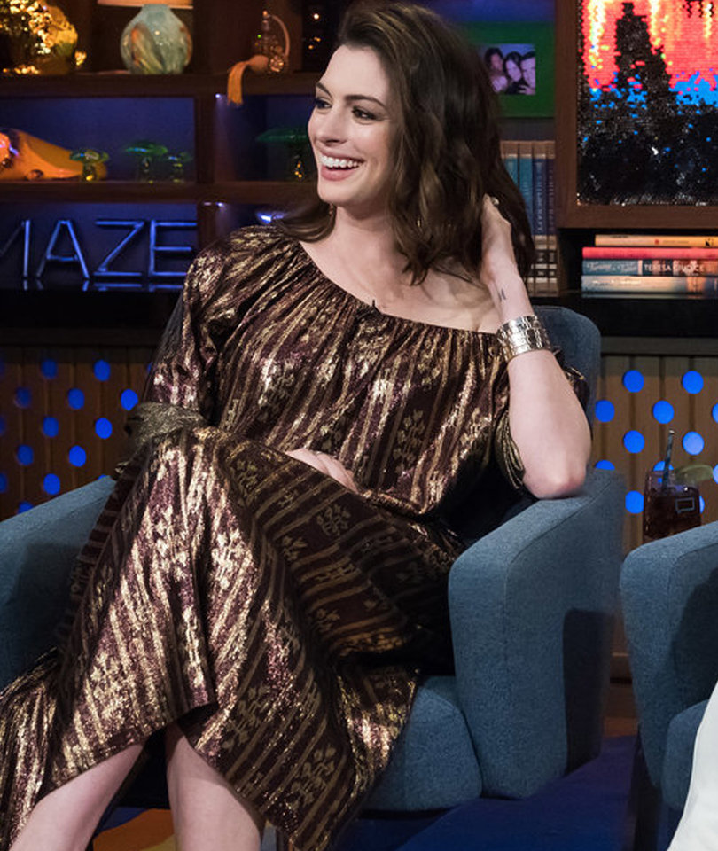 Anne Hathaway Confesses to Being a Stoner on 4/20-Themed 'Plead the Fifth'