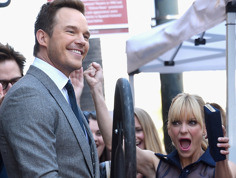 Pratt and Faris' Son Steals the Spotlight at Actor's Walk of Fame Ceremony