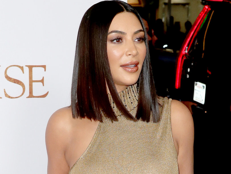 Kim Kardashian Accused of 'Blackface' in KKW Beauty Ad (Photo)
