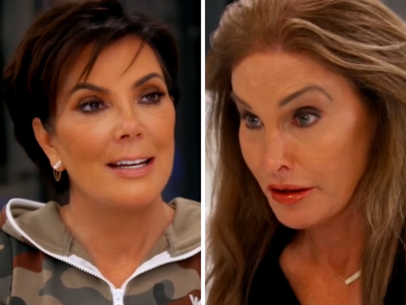 Caitlyn Really Doesn't Want to Talk Gender Confirmation Surgery with Kris