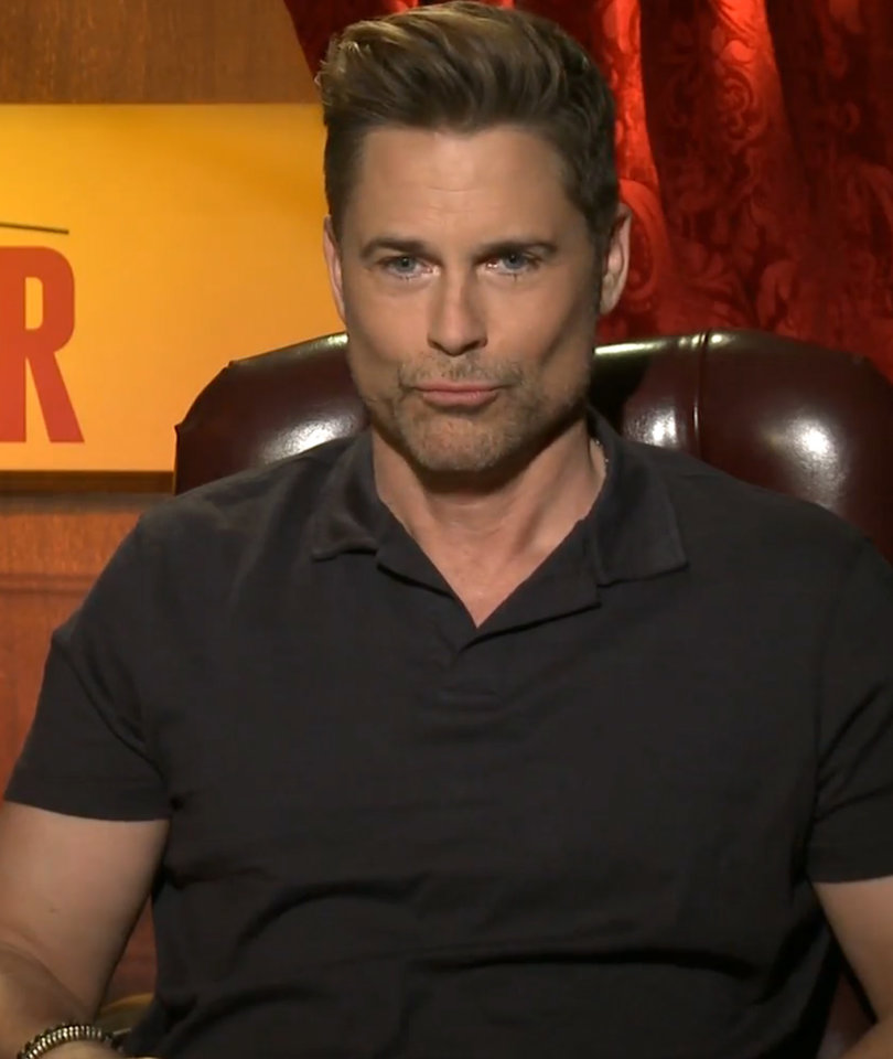 'How to Be a Latin Lover' Star Rob Lowe Shows Off His Best Sexy Face