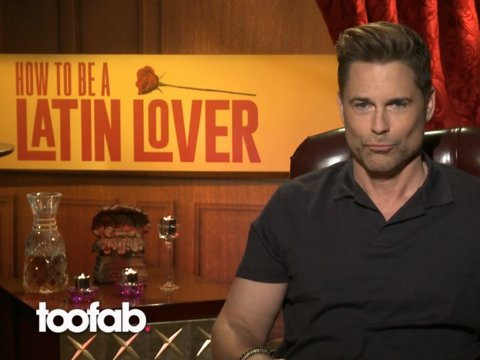Rob Lowe Talks Role-Playing, Sexy Faces and Latin Lovers