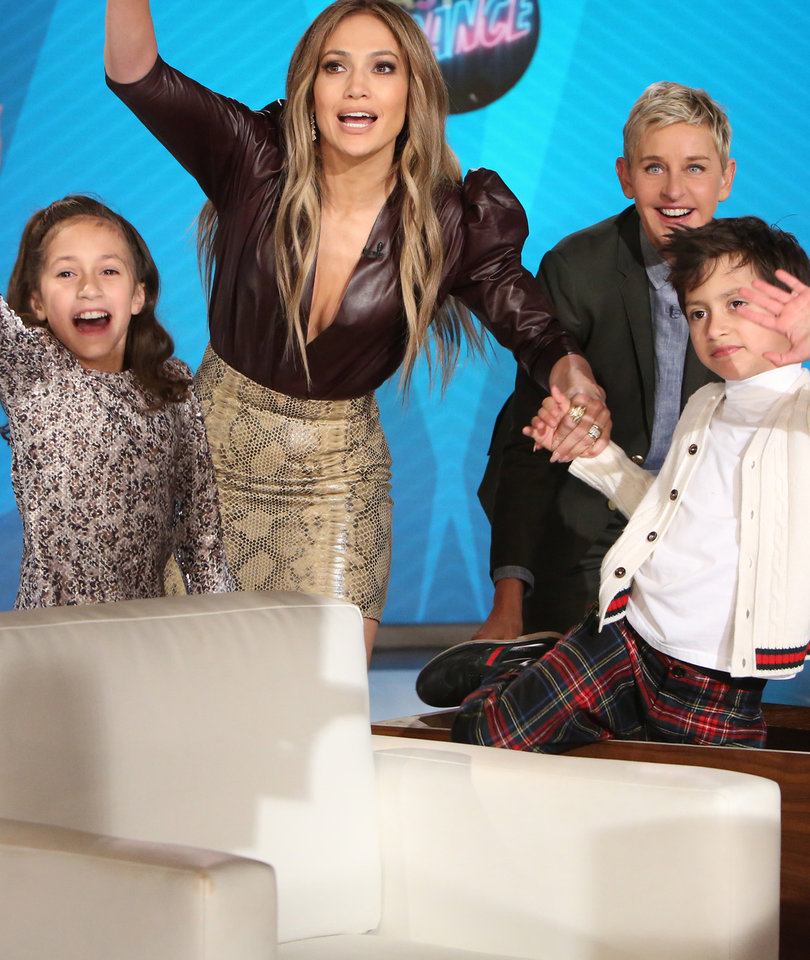 Jennifer Lopez Details Meeting A-Rod on 'Ellen' As Her Kids Throw Show Into…